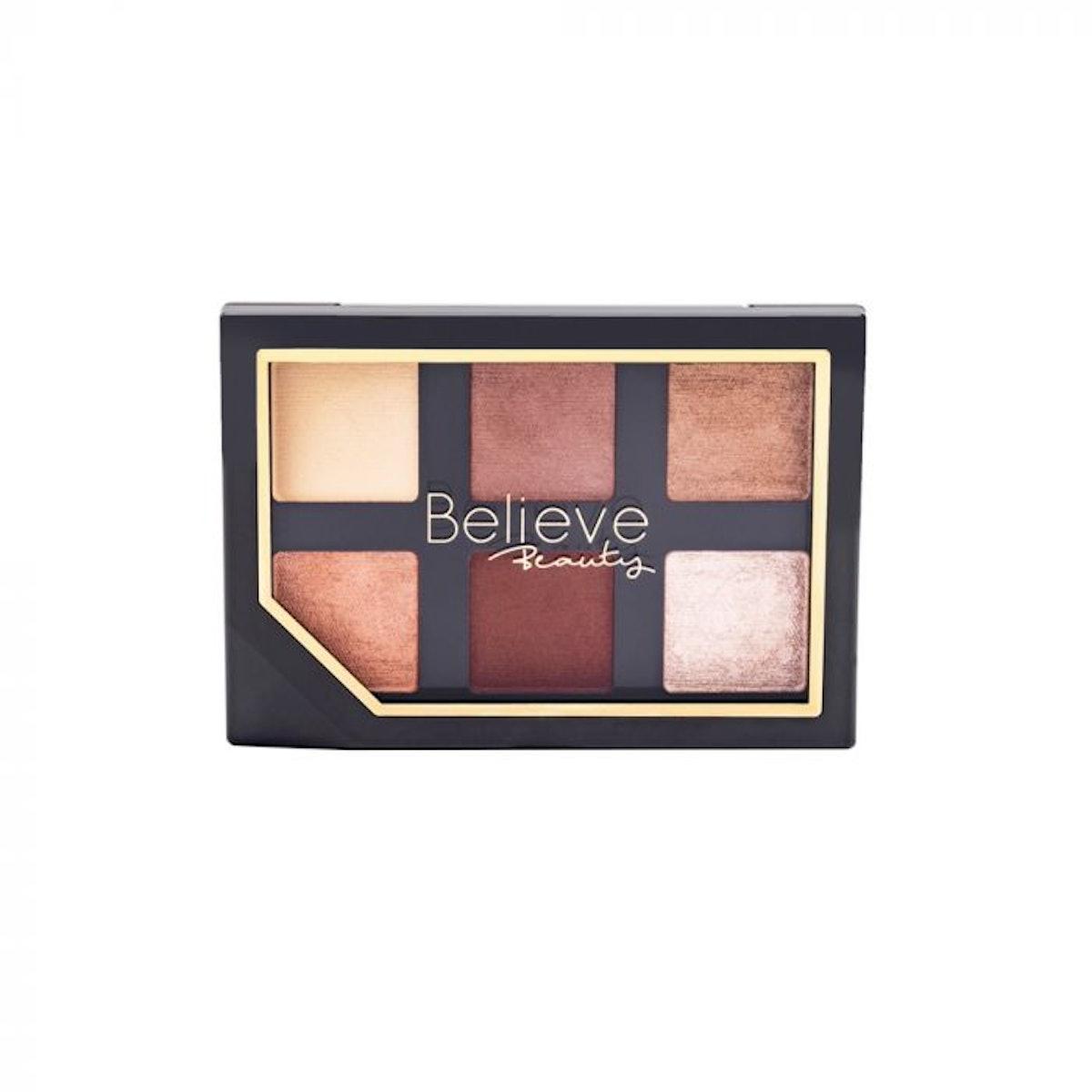 Believe Beauty Eyeshadow Palette - Nearly Nude