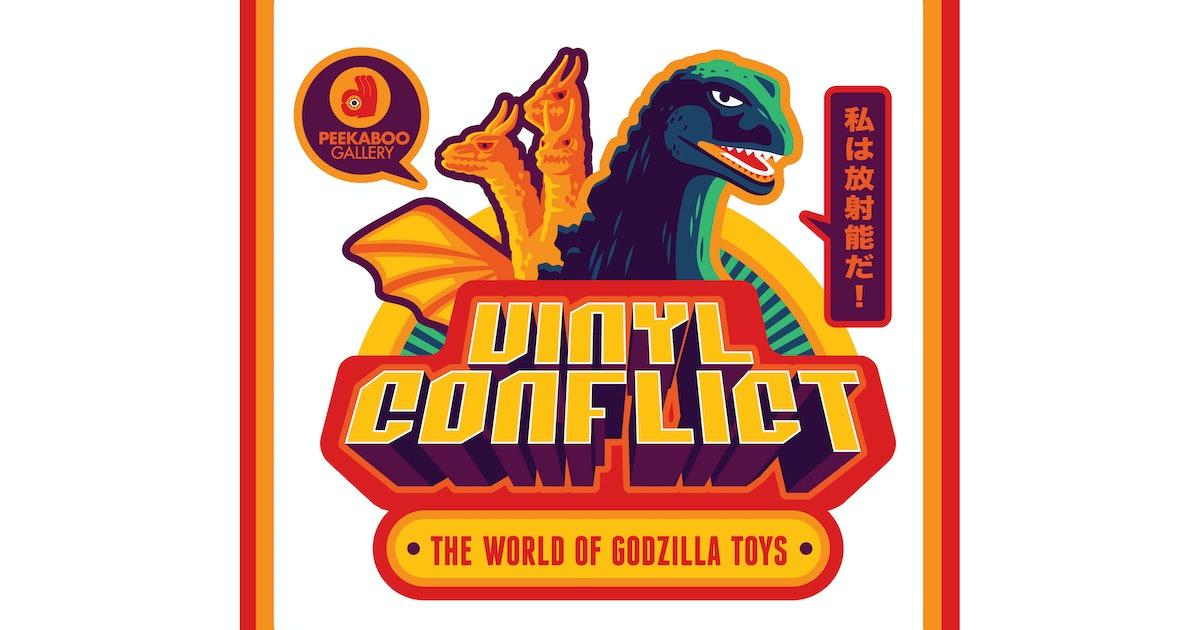 Enough Godzilla Toys to Make You Roar