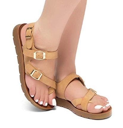 Herstyle Gladiator Flats
