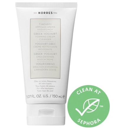 Free KORRES Greek Yoghurt Foaming Cream Cleanser