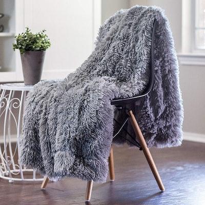 Chanasya Shaggy Faux Fur Blanket