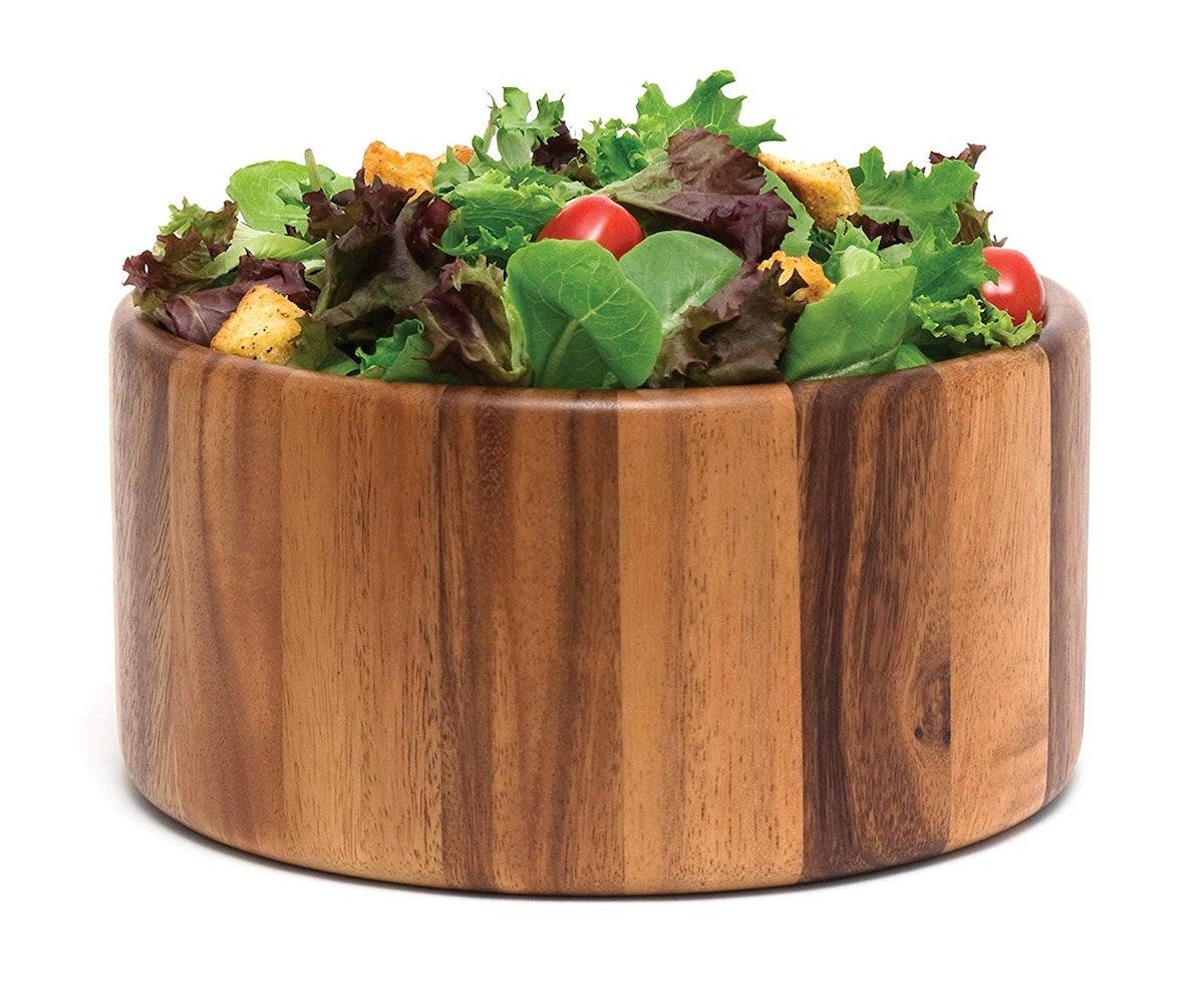 Lipper International Acacia Wood Serving Bowl