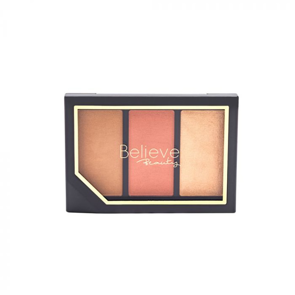 Believe Beauty Get Glowing Highlight And Contour Palette