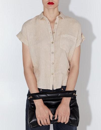 Linen Shirt With Pockets