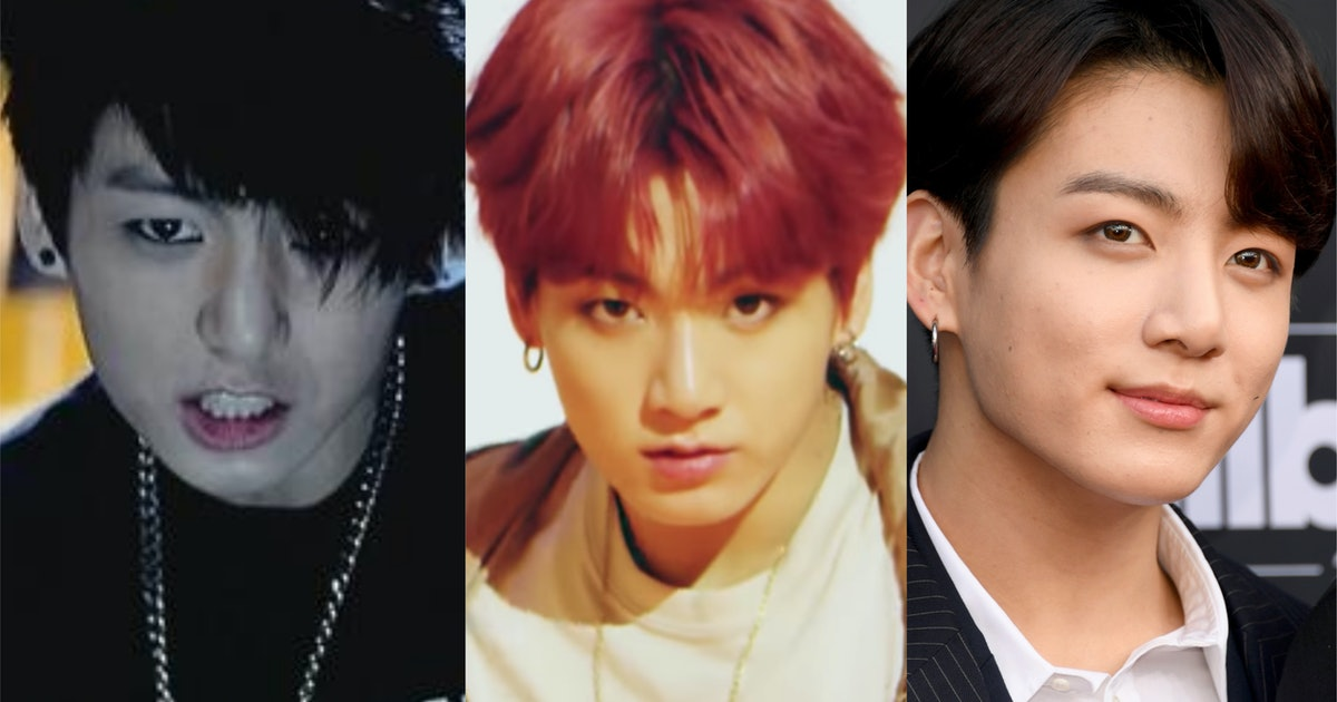 BTS' Jungkook's Hair Evolution Is All About The Tiny Details