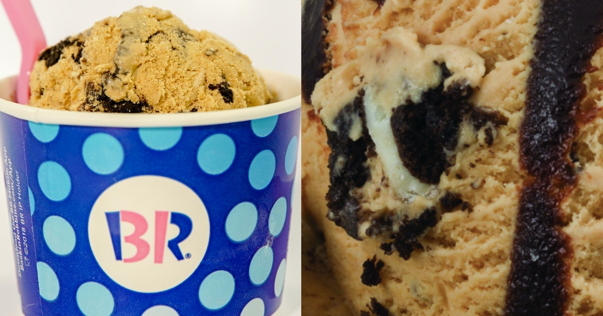 Baskin-Robbins' August 2019 Flavor Of The Month Is Stuffed With Oreos & Fudge Swirls