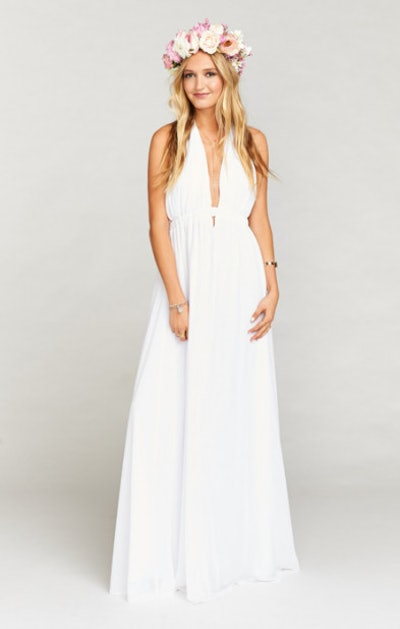 Show Me Your Mumu Luna Halter Dress