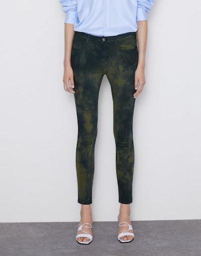 Tie Dye T1975 Skinny Jeans