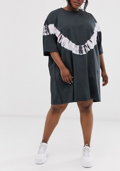 Tie Dye Oversize T- Shirt Dress
