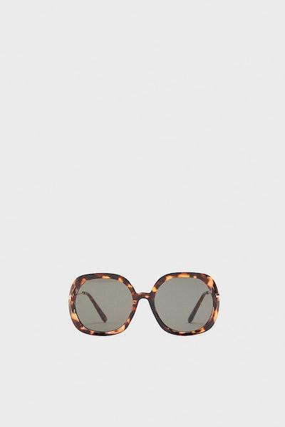 Tortious Shell Effect Sunglasses