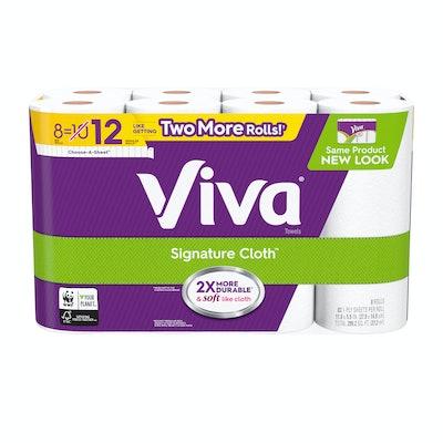 Viva Signature Cloth 8-Pack Paper Towels