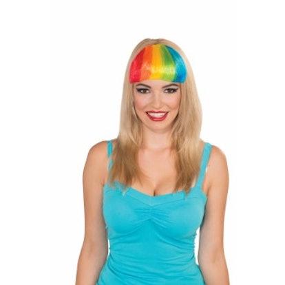 Forum Novelties Rainbow Clip-On Bangs