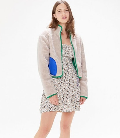UO Otto Sherpa Zip-Front Jacket
