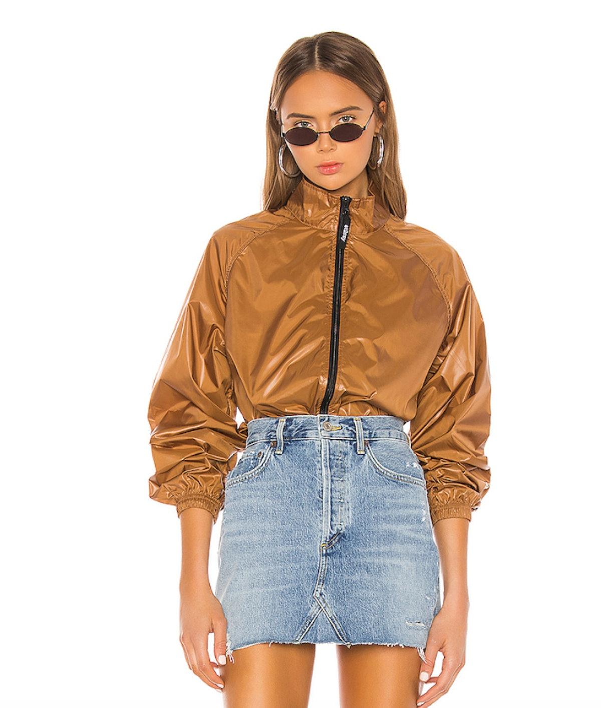 Stussy Langley Shiny Zip Jacket