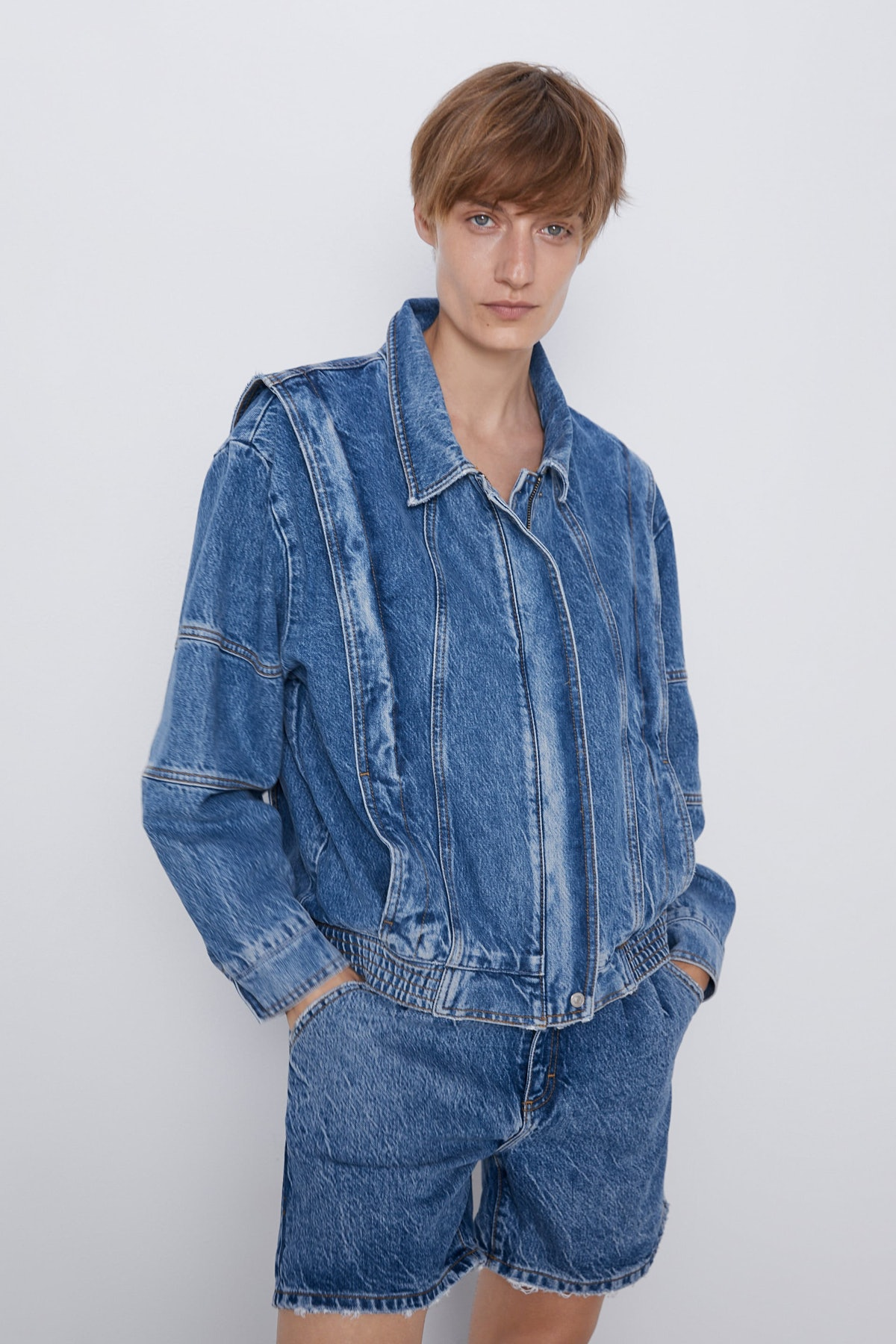 '80s Jacket In Arizona Blue