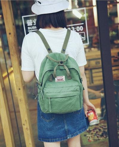 LuckyZ Lightweight Canvas Backpack