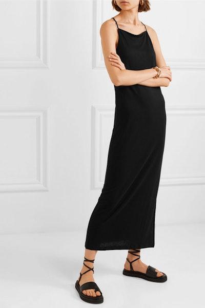 Organic Cotton-Jersey Maxi Dress