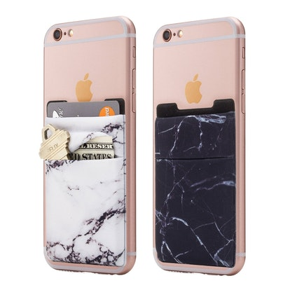 Cardly Stretchy Stick-On Cell Phone Card Holders (2 Pack)