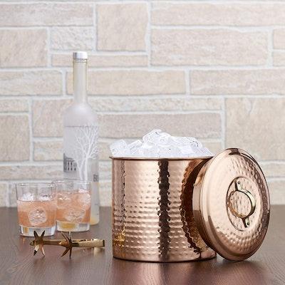 Old Dutch Copper Ice Bucket