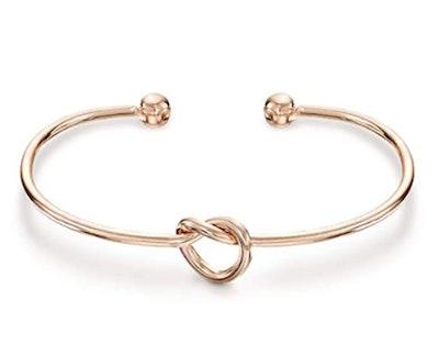 PAVOI 14K Gold Forever Love Knot Bracelet