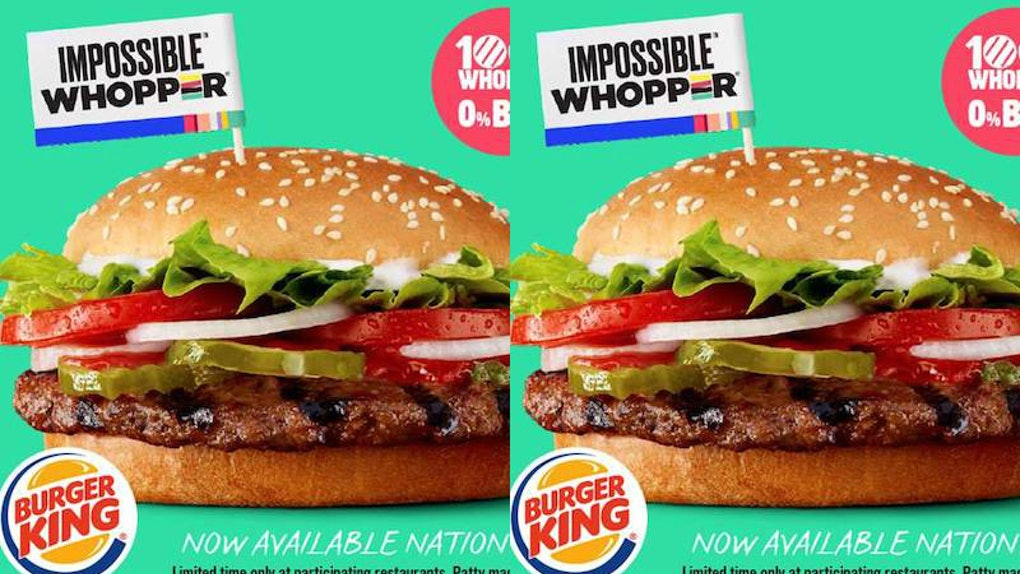 Burger King's Impossible Whopper Will Be Available