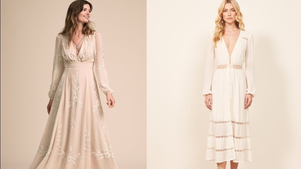 20 Boho Wedding Dresses Under 800 That