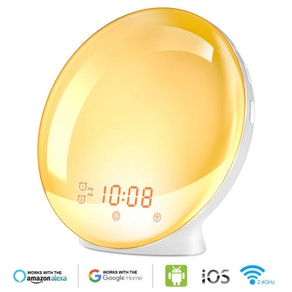 Burbupps Wake Up Light Alarm Clock