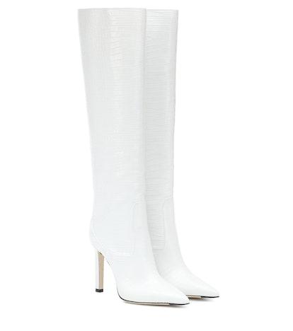 Mavis 100 Knee-High Leather Boots