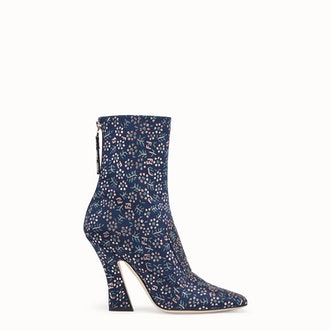 Floral Fabric Booties