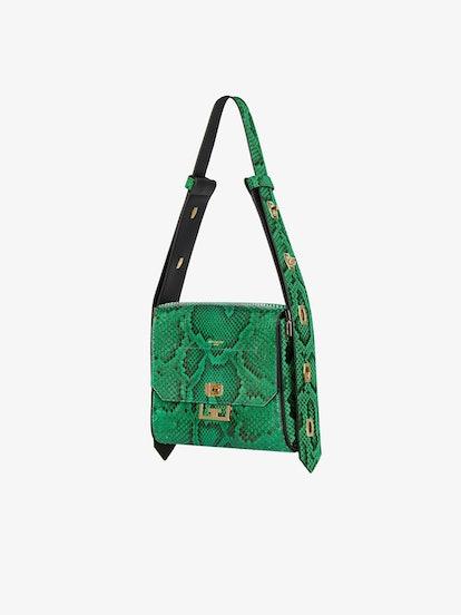 Medium Eden Bag in Python Leather