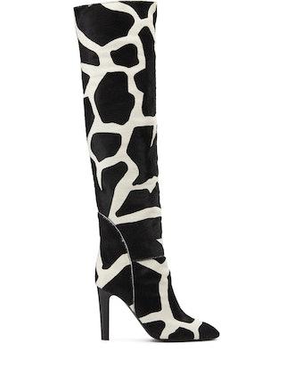 Giraffe Print Boots