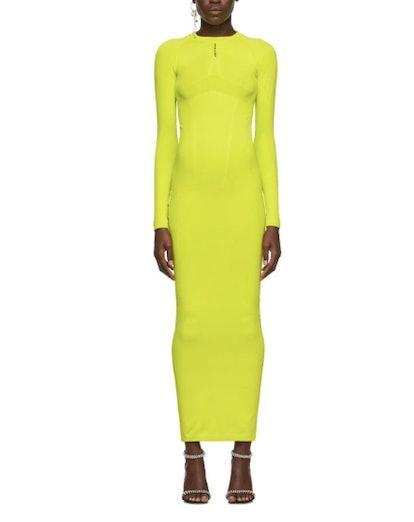 Green Tech Seamless Dress