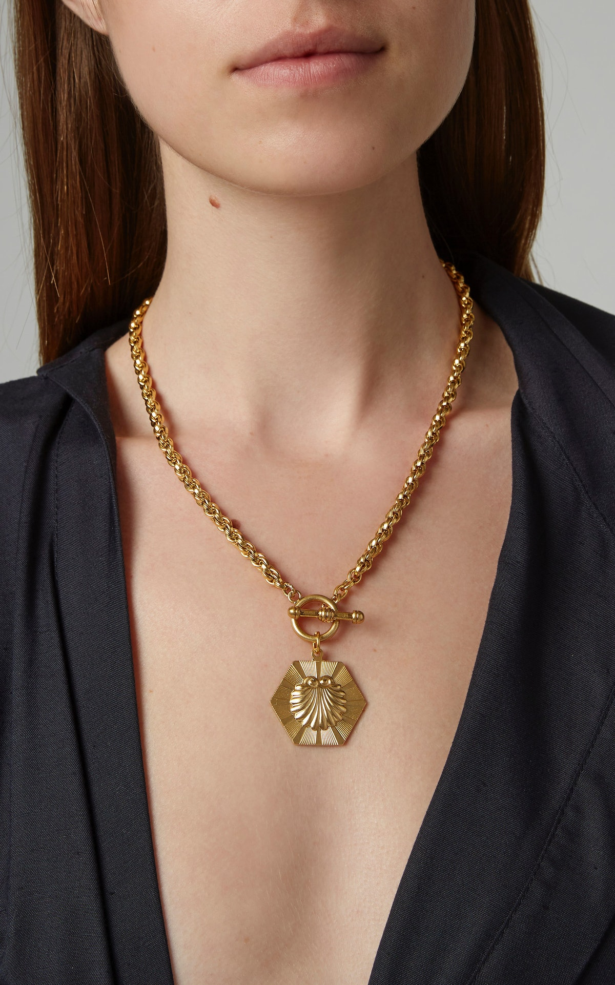 Golden Girl 24K Gold-Plated Necklace