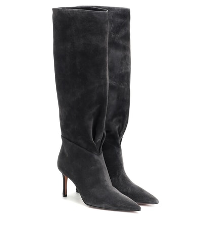Esme 75 Suede Knee-High Boots