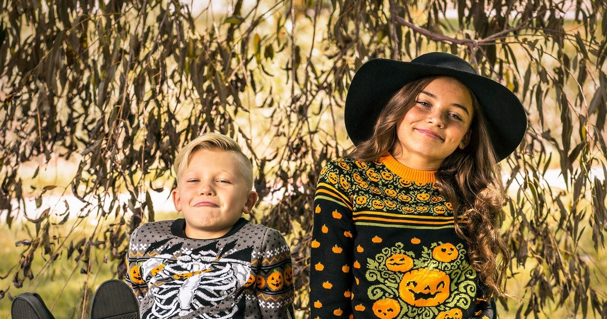 Ugly Halloween Sweaters Are So Much Easier Than Costumes