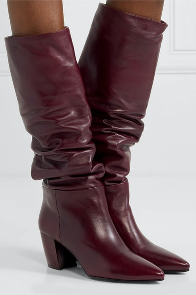 65 Leather Knee Boots