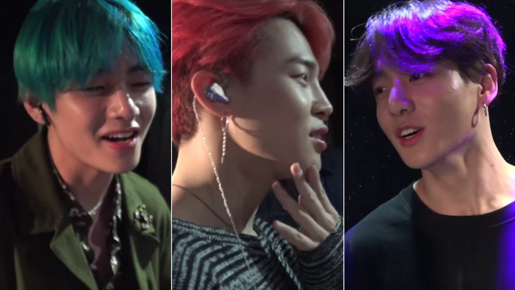 This Video Of BTS' V, Jimin, & Jungkook Singing