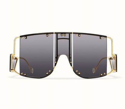 Blockt Mask Sunglasses in Black Smoke