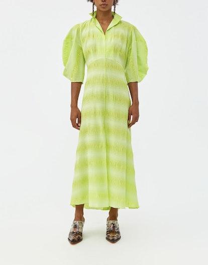 Amplus Dress in Neon Yellow