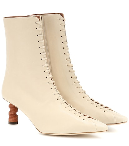 Simone Leather Ankle Boots