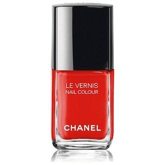 Le Vernis Longwear Nail Color in Arancio Vibrante