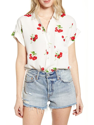 Whitney Print Shirt