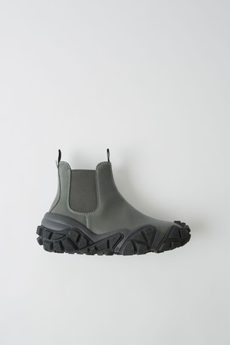 Trekking Leather Ankle Boots
