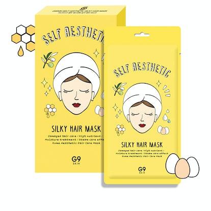 The Beauty Spy Silky Hair Masks Five-Pack