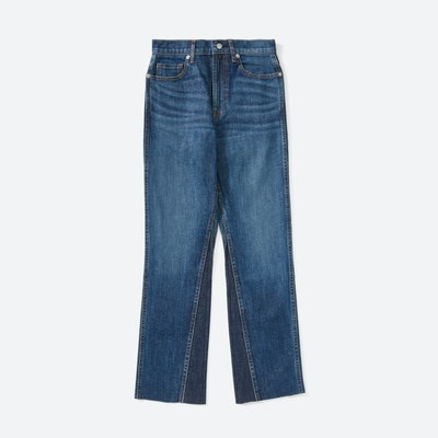The Cheeky Bootcut Jean in Classic Blue Wash