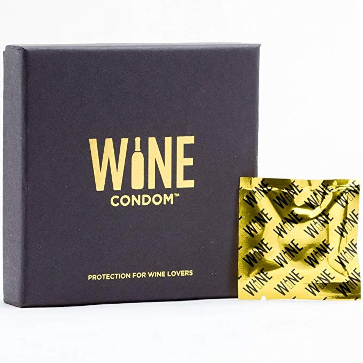 Wine Condom Wine & Beverage Bottle Stopper