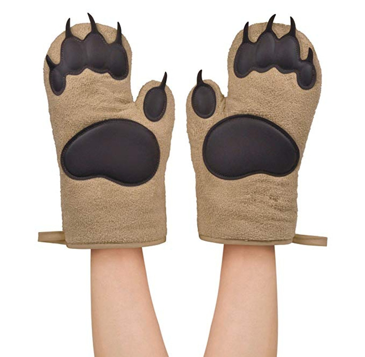 Fred and Friends Bear Paw Oven Mitts