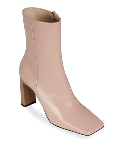 Isa Leather Booties