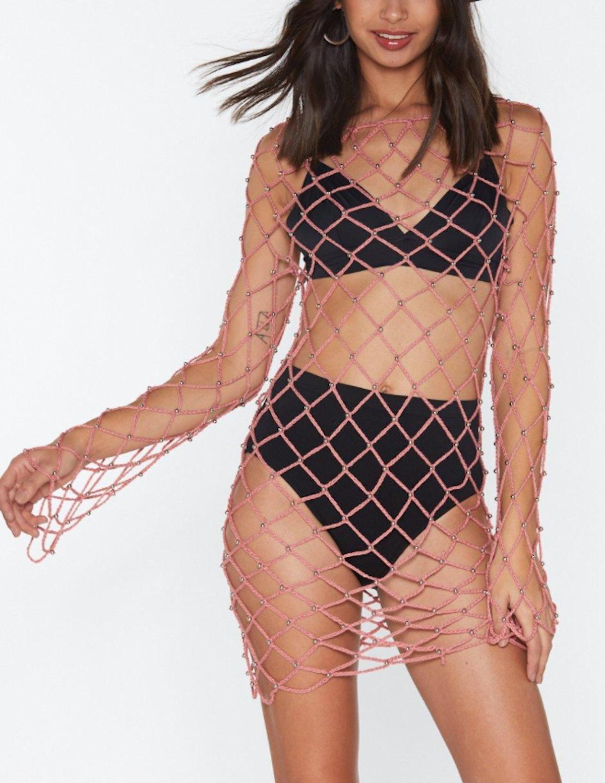 Beadin' Love Crochet Maxi Dress
