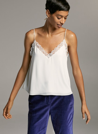 Babaton Ambre Camisole Lace-Trimmed Camisole